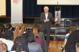 Lord Tony Hall Speaks to 6th Form
