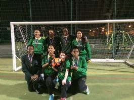 Y7 Football Team Win Camden Tournament